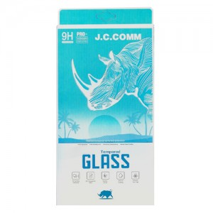 J.C.COMM Samsung Galaxy S9 Tempered Glass Screen Protector