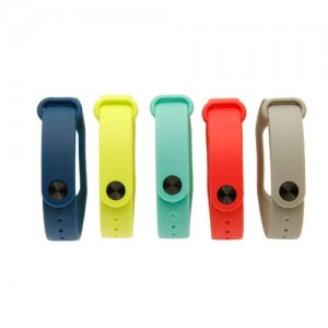 Xiaomi Mi Band 2 Silicone Wrist Strap