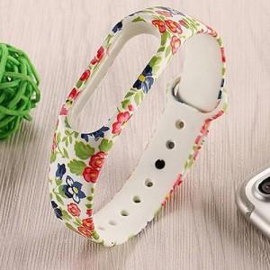 Xiaomi Mi Band 2 Floweres Wrist Strap