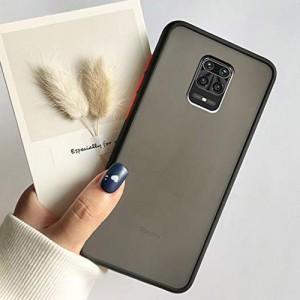 Hybrid Simple Matte Bumper Phone Case For Xiaomi Redmi Note 9s