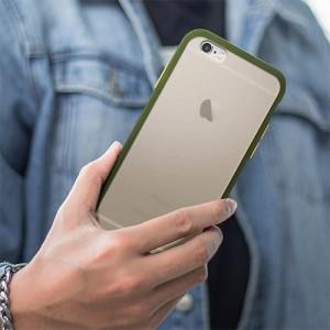 Hybrid Simple Matte Bumper Phone Case For iPhone 6