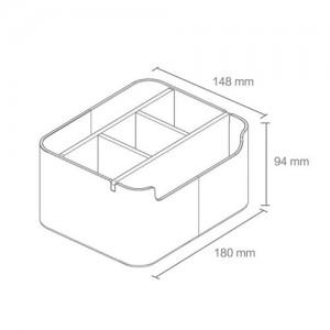 Xiaomi Bamboo Fiber Desktop Storage Box
