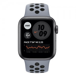 Apple Watch Series 6 40mm Space Gray Aluminum Case with Nike Sport Band