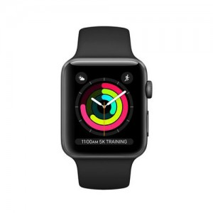 Apple Watch Series 3 GPS 42mm Space Aluminum Case with Sport Band