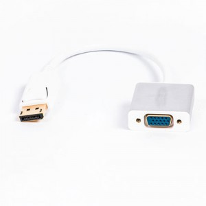 Ugreen DP106 Display Port Male to VGA Female Converter Cable 15cm