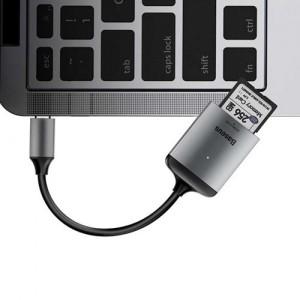 Baseus CAHUB-P0G Enjoy Type-C to SD/TF Card Reader Hub Adapter