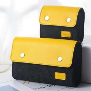 ROCK RST1043 small Wool Felt Digital Gadget Storage Bag