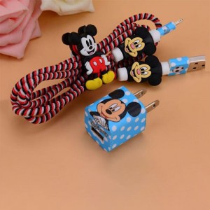 Cover Charger Protector Mickey Mouse