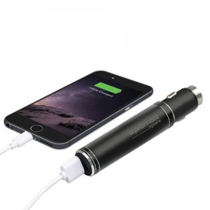 Promate Spark 2800mAh Car Charger Power bank