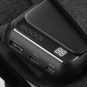 Rockspace P63 mini 10000mAh Digital Display Power Bank