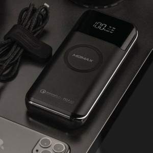 Momax iPower Air2+ IP92W 20000mAh Wireless Charger Power Bank