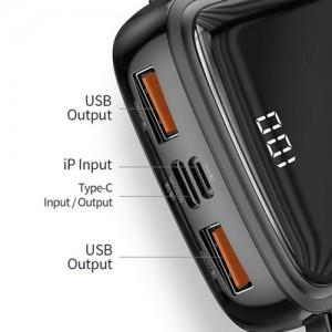 Baseus Q pow BS-P1001L 10000mAh Digital Display Power Bank