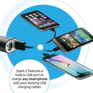 Promate Spark-2 2600mAh 4 in1 Car Charger Power Bank