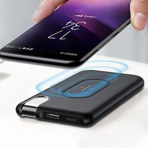 Baseus Thin Version 10000mAh Wireless Charging Power Bank