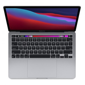لپتاپ 13 اینچی اپل مدل MacBook Pro MYDC2 2020 همراه با تاچ بار پردازنده Apple M1 و رم 8GB