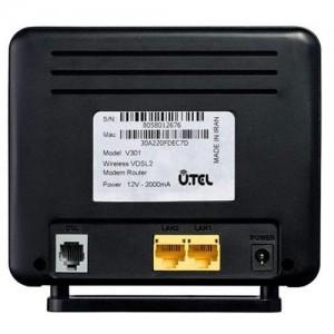 مودم روتر بیسیم یوتل VDSL2/ADSL2  مدل V301