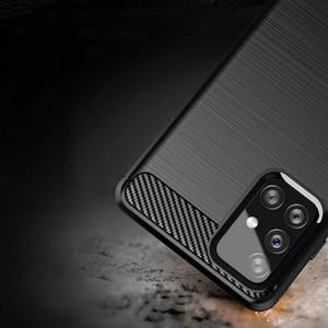 قاب محافظ ژله ای سامسونگ Samsung Galaxy A72 Rugged Armor Fiber Carbon