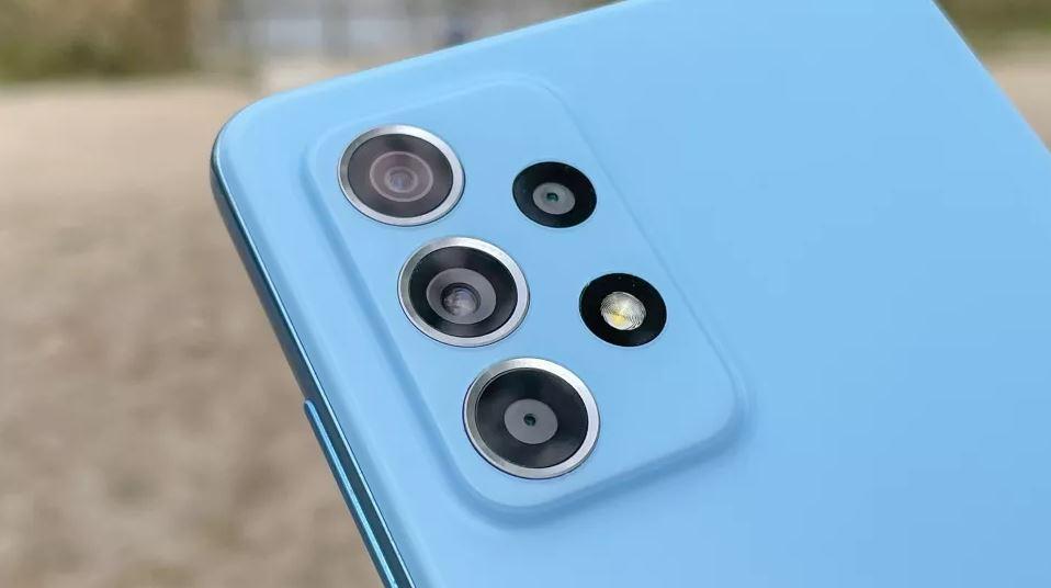 دوربین 64 مگاپیکسلی گوشی Samsung Galaxy A52 5G