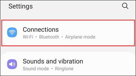 خاموش کردن 5G در گوشیهای سامسونگ