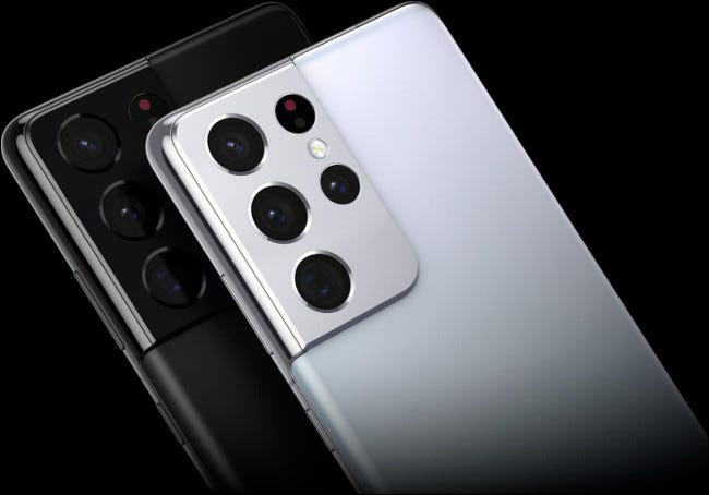 گوشی موبایل سامسونگ گلکسی S21 Ultra