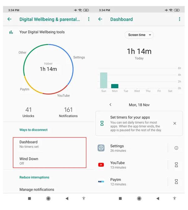 پایش و محدود کردن مدت زمان استفاده از گوشی در Redmi Note 8 Pro