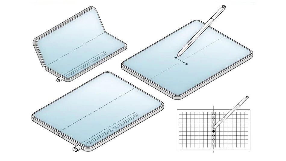 گلکسی زد فولد 3 با قلم S Pen