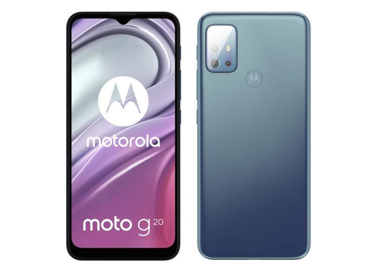 گوشی موبایل موتورولا مدل Moto G20