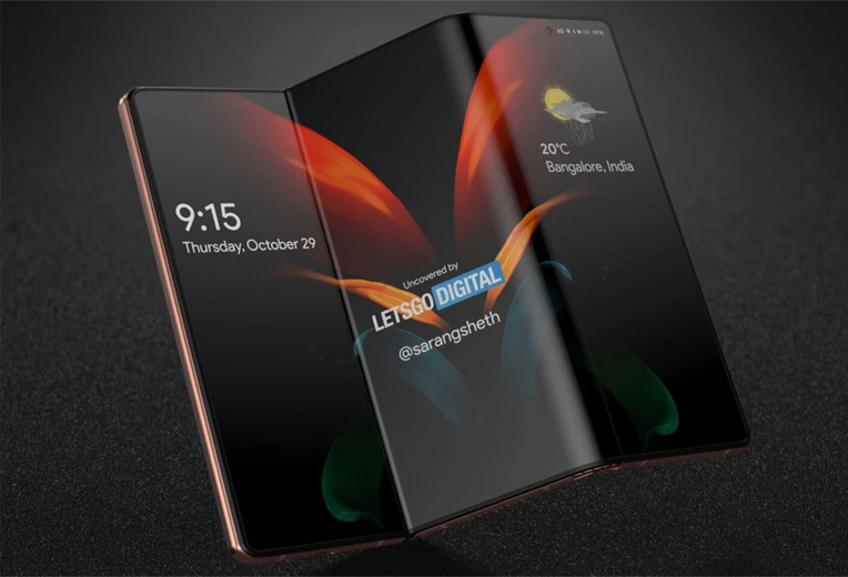 تبلت سامسونگ Galaxy Z Fold Tab