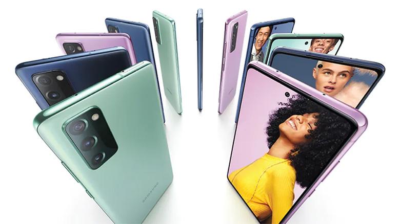 گوشی موبایل سامسونگ مدل گلکسی S20 FE