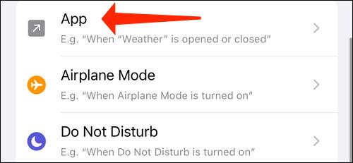 مراحل غیرفعال کردن اعلانهای برنامه Shortcuts در آیفون
