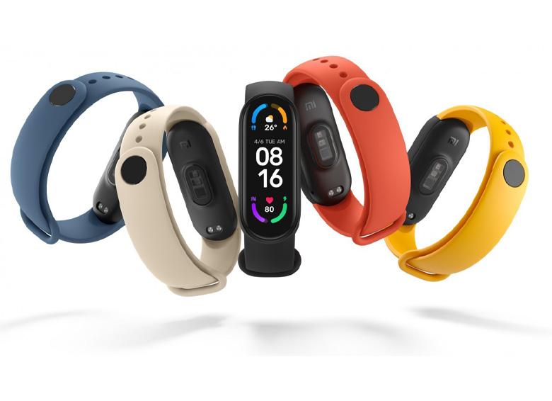 رنگبندی دستبند شیائومی مدل Mi Band 6