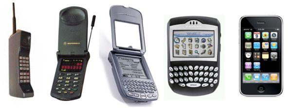 تاریخچهی گوشیهای هوشمند