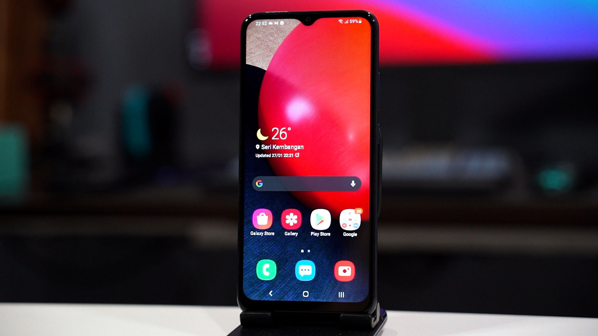گوشی موبایل سامسونگ مدل Galaxy A02s