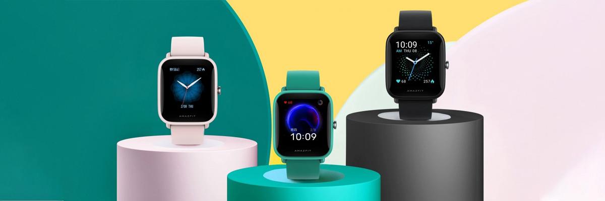 ساعت هوشمند Amazfit Bip U با GPS داخلی و حسگر اندازهگیری سطح اکسیژن خون