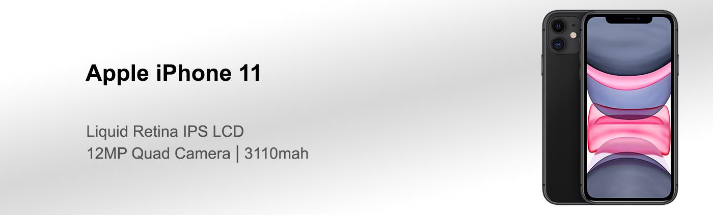 مشخصات گوشی آیفون 11 با حافظه داخلی 64 گیگابایت