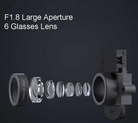 دوربین مداربسته هوشمند 360 درجه شیائومی دارای 6 لنز با کیفیت