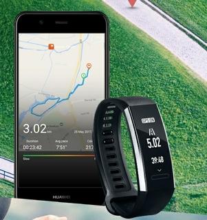 مچ بند هوشمند هواوی Huawei Band 2 Fitness Tracker مجهز به GPS