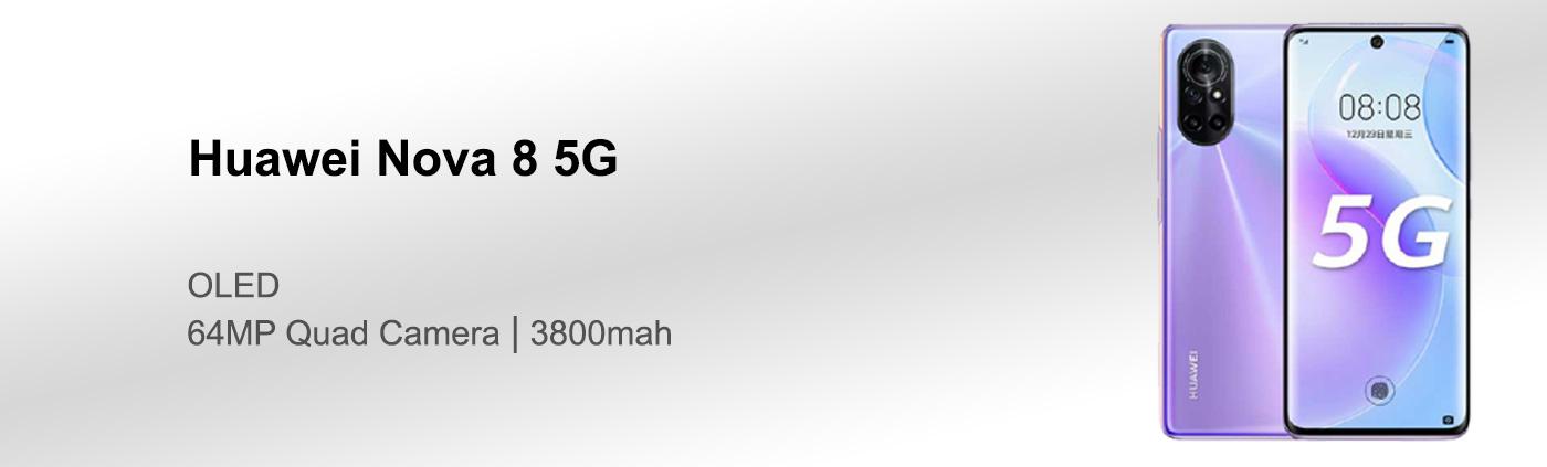 بررسی گوشی هواوی Nova 8 5G