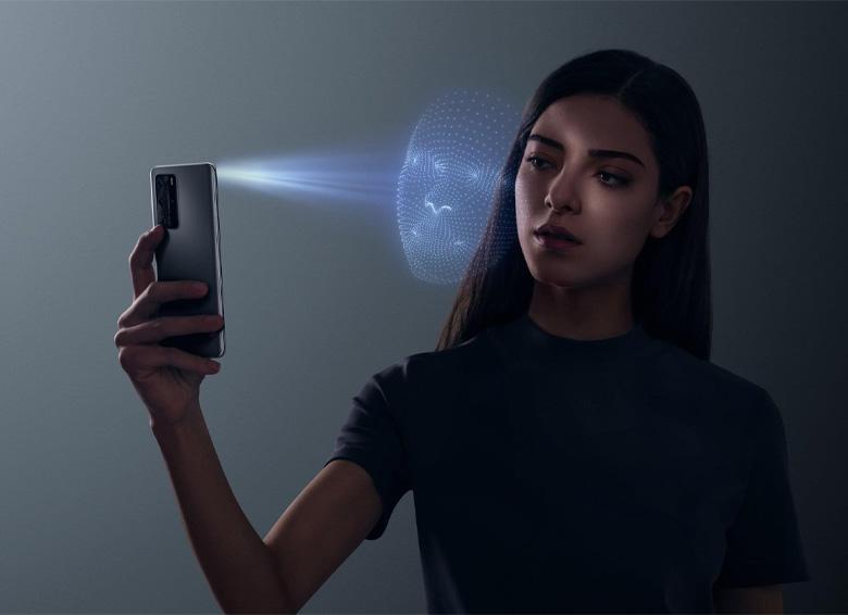 سیستم تشخیص چهره گوشی هوآوی P40 Pro