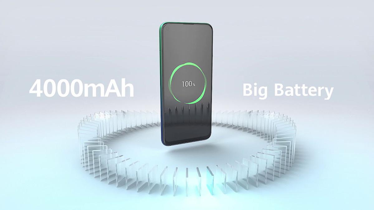 گوشی هوآوی Y7p به یک باتری 4000 میلیآمپرساعتی مجهز شده