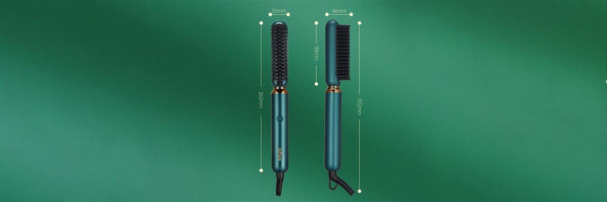 قیمت و مشخصات برس حرارتی شیائومی مدل InFace ION Hairbrush ZH-10D