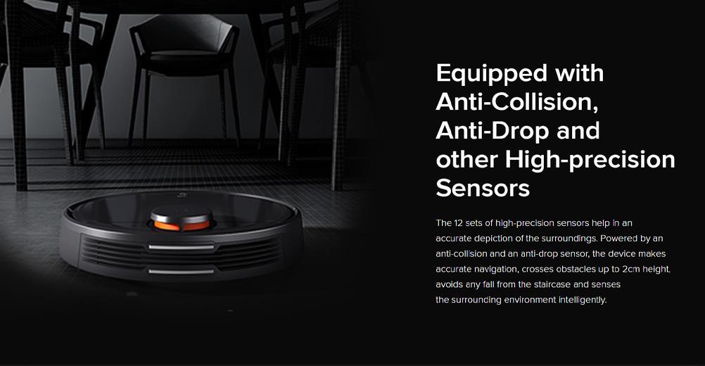 جاروبرقی رباتی هوشمند شیائومی مجهز به سیستم مسیریابی لیزری جدید LDS