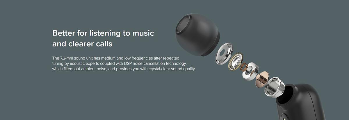 هدفون Mi True Wireless Earbuds Basic 2، ایده آل برای گوش دادن به موزیک