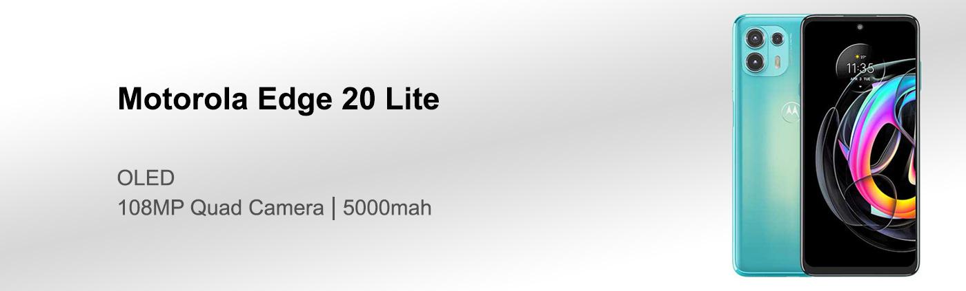 قیمت گوشی موتورولا Edge 20 Lite