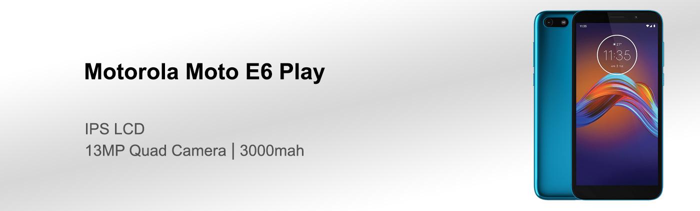 قیمت گوشی موتورولا Moto E6 Play