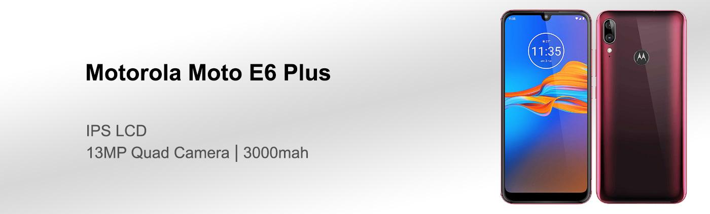 قیمت گوشی موتورولا Moto E6 Plus