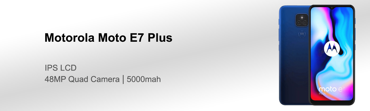 قیمت گوشی موتورولا Moto E7 Plus