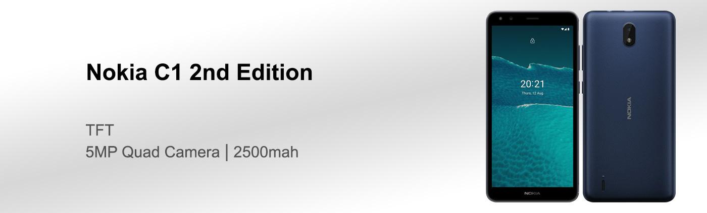 بررسی گوشی Nokia C1 2nd Edition