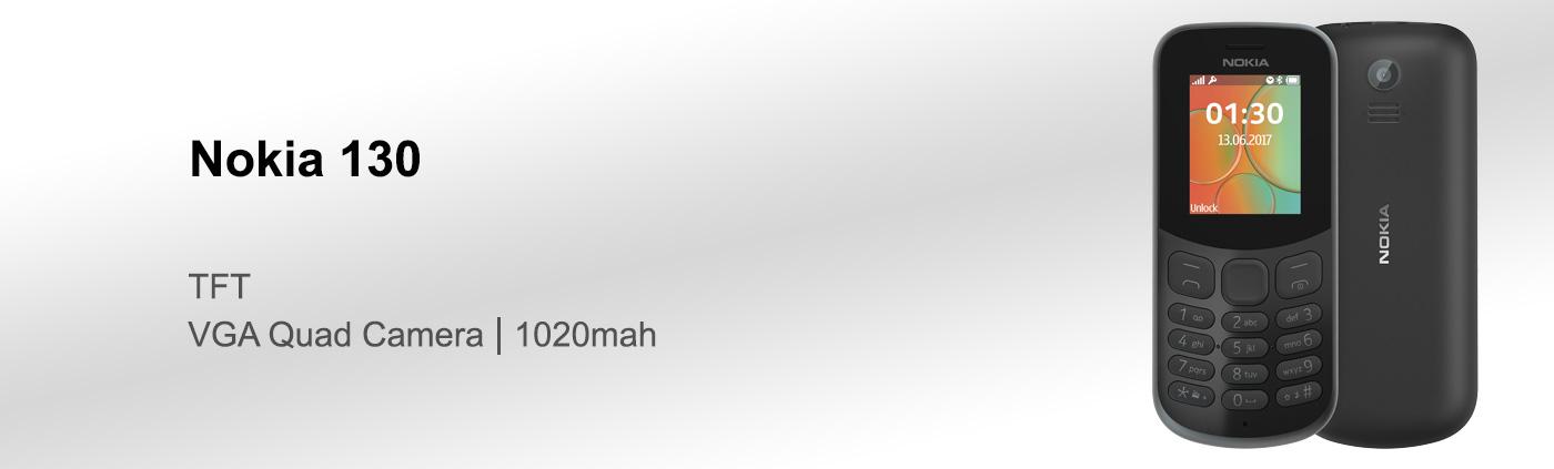 قیمت گوشی نوکیا 130