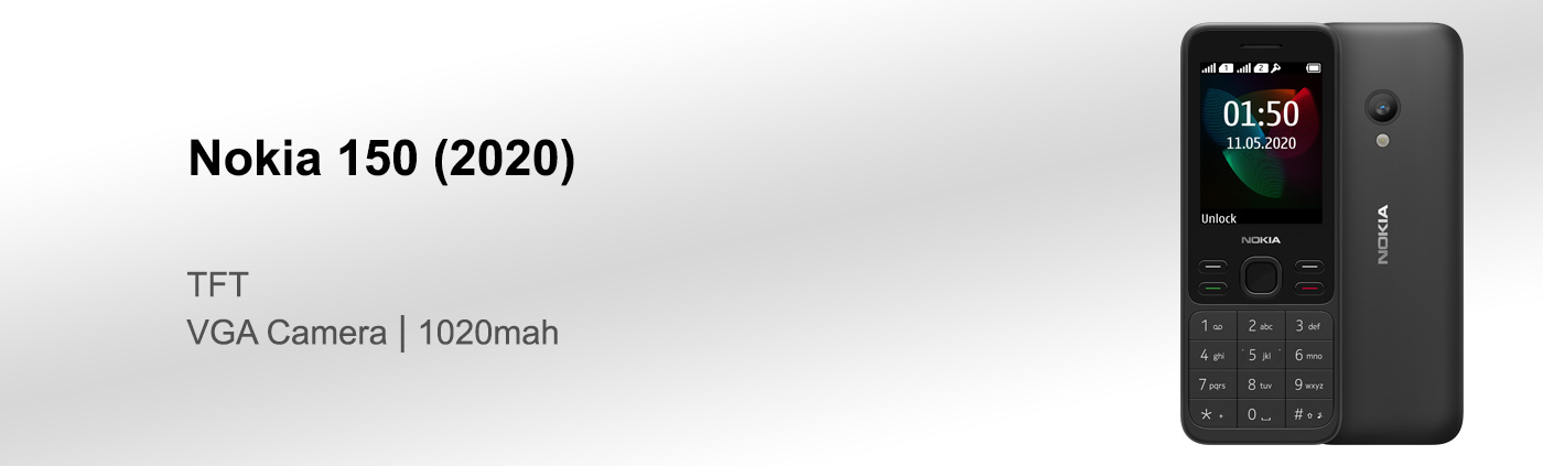 قیمت گوشی نوکیا 150 2020